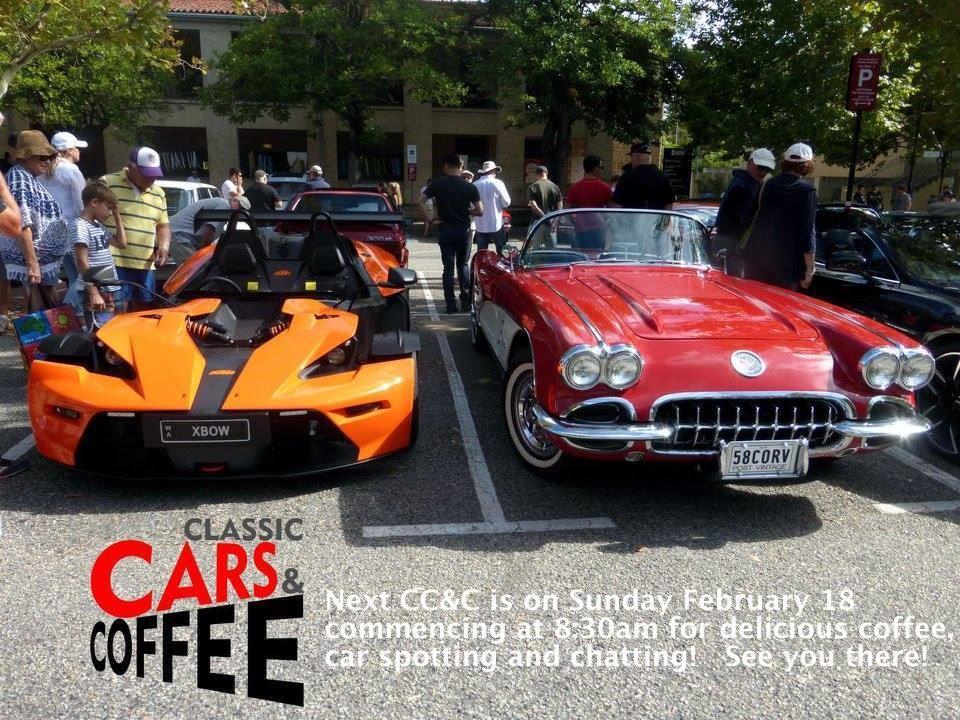Porsche Club of Western Australia - Classic Cars and Coffee February